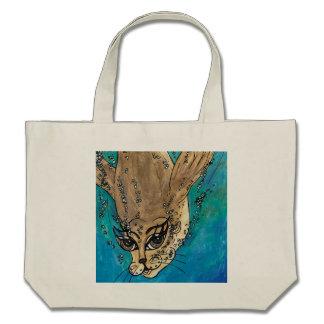 Suki the Fur Seal Tote Bags