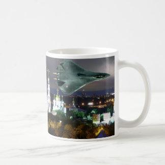 SUKOI OVER MOSCOW CLASSIC WHITE COFFEE MUG