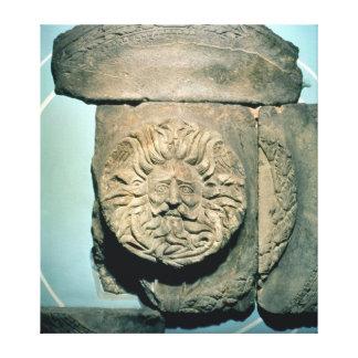 Sul, a native British god, Roman period Canvas Print