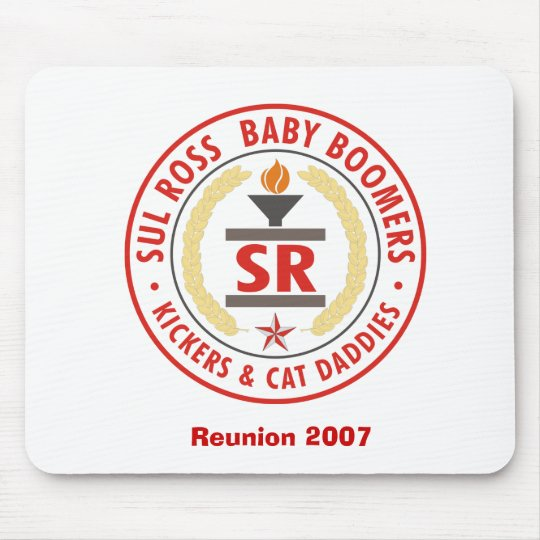 Sul Ross Baby Boomers Mouse Mat