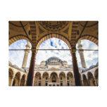 Sulamine Mosque, Istanbul Turkey Canvas Print
