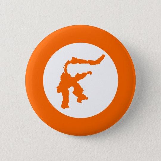 Sulawesi, Indonesia 6 Cm Round Badge