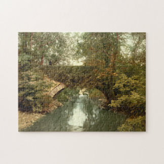 Sulby Glen Bridge, Ramsey, Isle of Man Jigsaw Puzzle