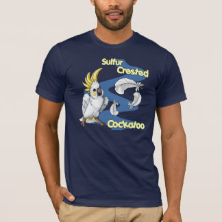 "Sulfur Crested Cockatoo ""Cutie"" Shirt (dk)"