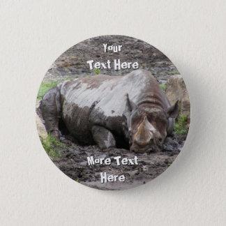 Sulking Rhino Button