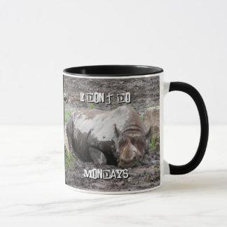 Sulking Rhino Mug