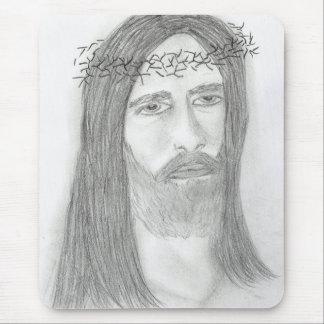 Sullen Jesus Mousepad