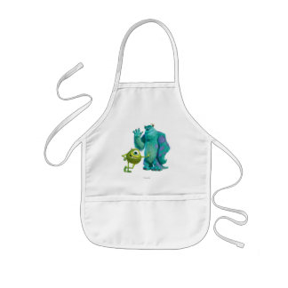 Sulley and Mike Kids Apron