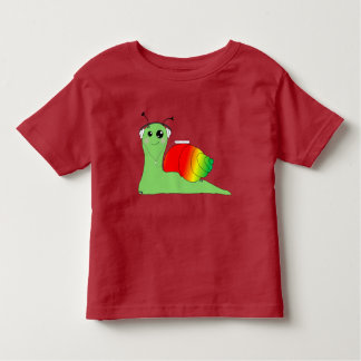 Sullivan la Snail loves music: Reggae Toddler T-Shirt