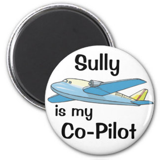 Sully Is My Co-Pilot Magnet