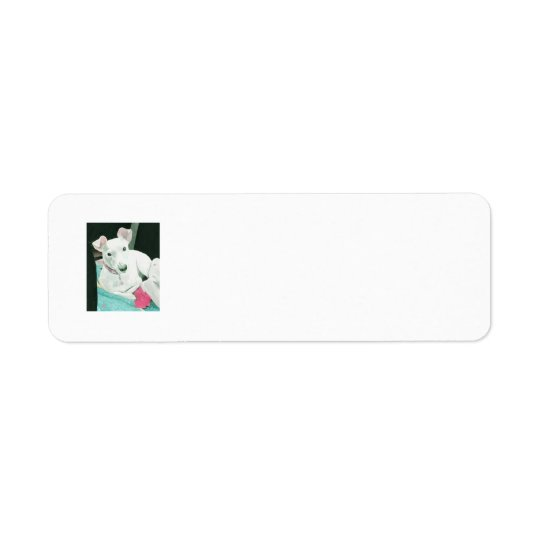 Sully the Jack Russell Terrier Return Address Label