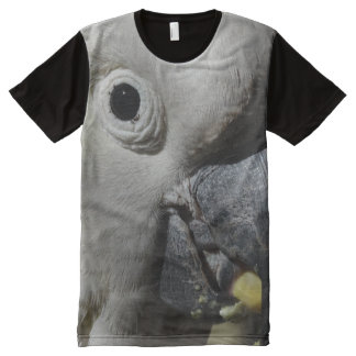Sulphur Crested Cockatoo All-Over Print T-Shirt