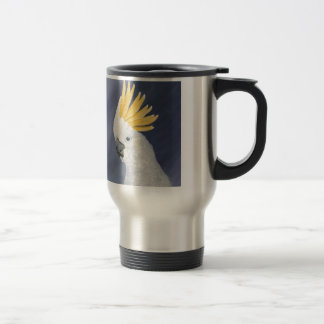 Sulphur crested Cockatoo gift for the parrot lover Travel Mug