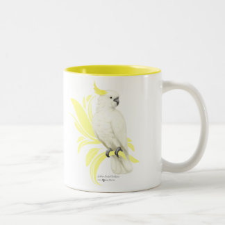 Sulphur Crested Cockatoo Two-Tone Coffee Mug
