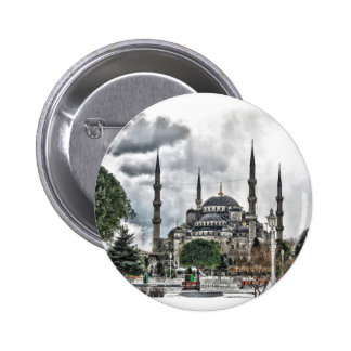 Sultan Ahmed Mosque - Istanbul Turkey 6 Cm Round Badge