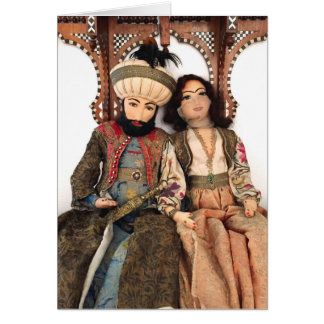 Sultan and Sultana Greeting Card