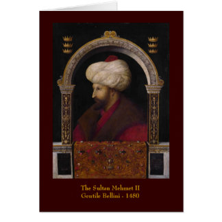 Sultan Greeting Card