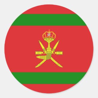 Sultan Of Oman, Norway Round Sticker