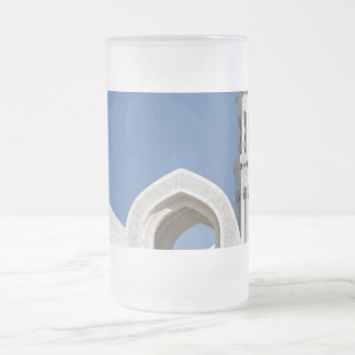 Sultan Qaboos Grand Mosque Muscat Sultanate Oman Frosted Glass Mug