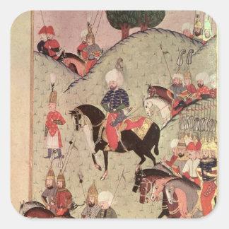Sultan Selim II Square Sticker