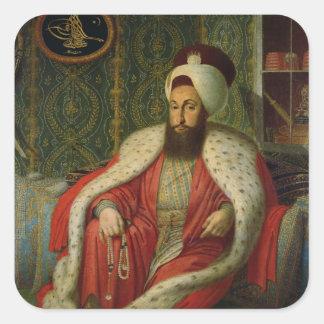 Sultan Selim III, c.1803-04 Square Sticker