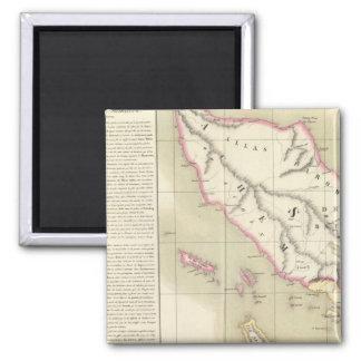 Sumatra Oceania no 11 Magnet