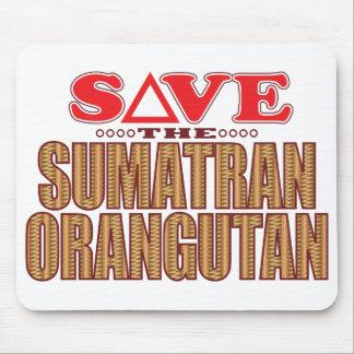 Sumatran Orangutan Save Mouse Mat