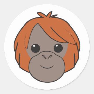 Sumatran Orangutan Stickers