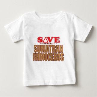 Sumatran Rhino Save Baby T-Shirt