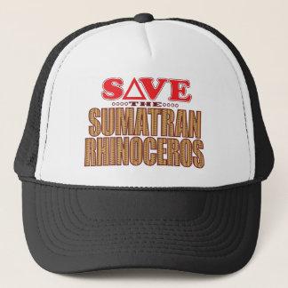 Sumatran Rhino Save Trucker Hat