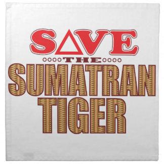 Sumatran Tiger Save Napkin