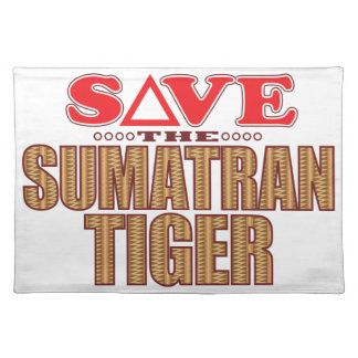 Sumatran Tiger Save Placemat