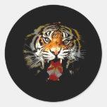 Sumatran Tiger Stickers
