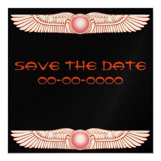 Sumerian Anunnaki Winged Sun Disc  Invitations