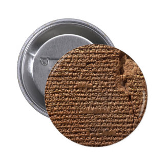 Sumerian Cuneiform Writing History Button
