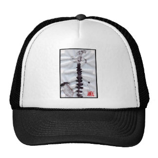 Sumi Butterfly on Bamboo Trucker Hat