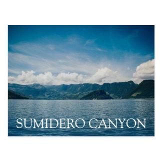 Sumidero Canyon Panoramic Postcard