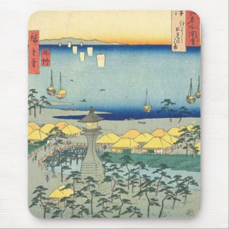 Sumiyoshi Beach Settsu Mouse Pad