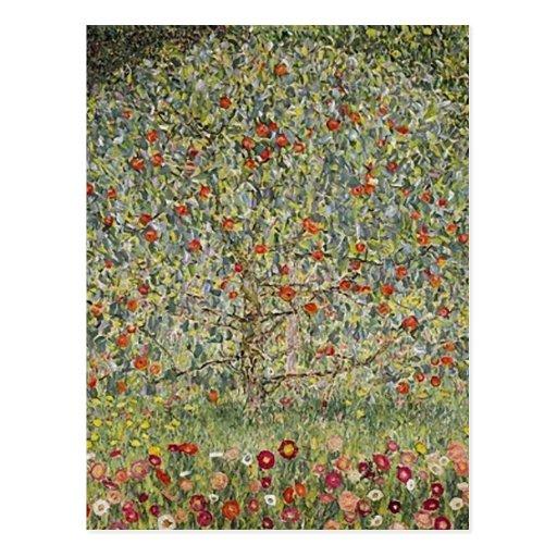 Summary Apfelbaum I , 1912, by Gustav Klimt center Post Cards