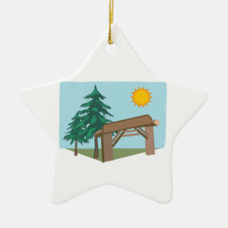 Summary Camp Entry Christmas Ornament