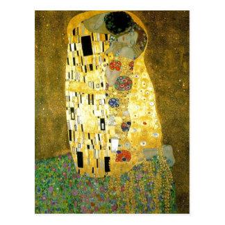 Summary Description Gustav Klimt s painting www ya Postcard