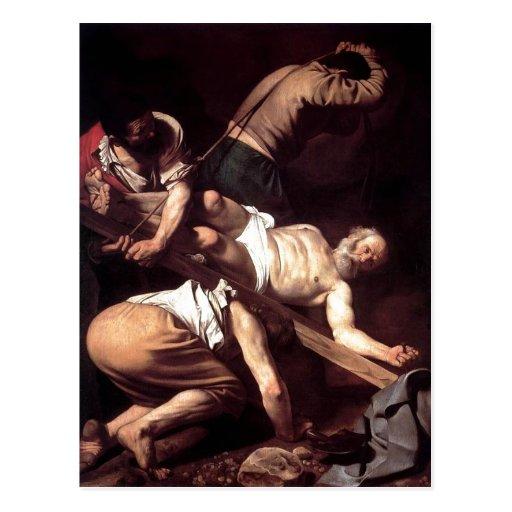 Summary Espa?ol: La crucifixi?n de San Pedro Miche Postcards