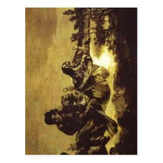Summary Francisco de Goya The Fates Atropos ca 1 Postcards
