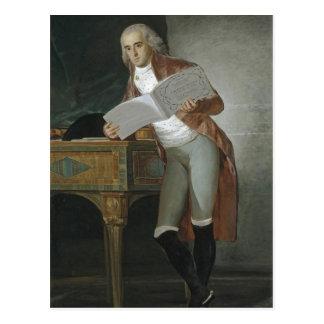 Summary Goya y Lucientes, Francisco de Don Jos? ?l Postcard