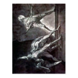 Summary Henry Fuseli - Hamlet and his father's Gho Postcards