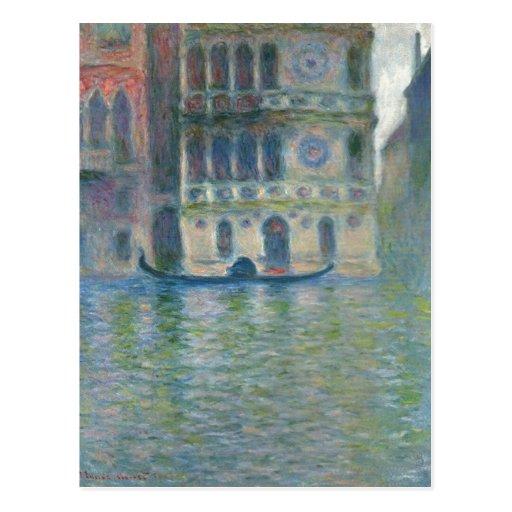 Summary Monet, Claude Palazzo Dario, Venice 1908 T Post Card