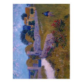 Summary Title: Farmhouse in Provence Year: 1888 Ar Postcard