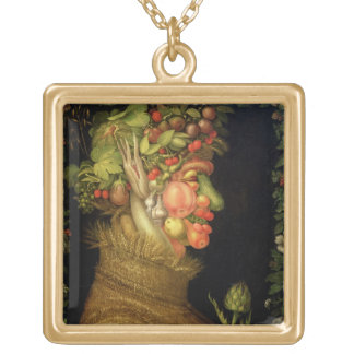 Summer, 1573 gold plated necklace