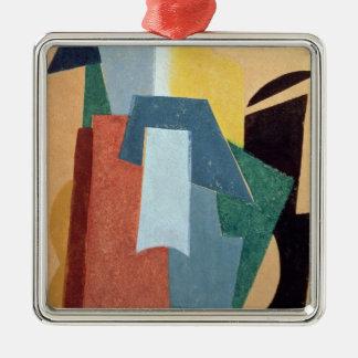 Summer, 1917-18 Silver-Colored square decoration