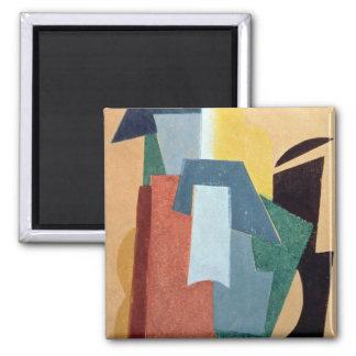 Summer, 1917-18 square magnet